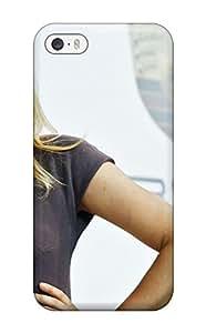 New Style ZippyDoritEduard Maria Sharapova Photos Premium Tpu Cover Case For Iphone 5/5s(3D PC Soft Case)