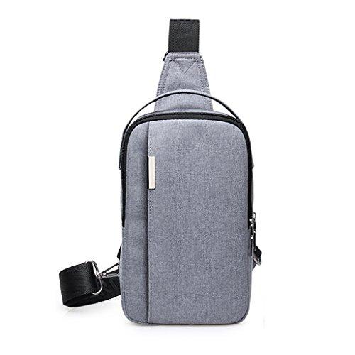 della di spalla svago del CLOTHES modo trasversale coreana Sacchetto sacchetto canapa della delluomo di viaggio Versione tela trasversale di cassa di libero di rtwYwqUxWH