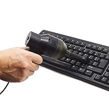 Mini USB Computer Vacuum Cleaner Yoolove Portable Keyboard Vacuum Sweeper Dust Cleaning KitsTools for PC Laptop Notebook Desktop (Black)