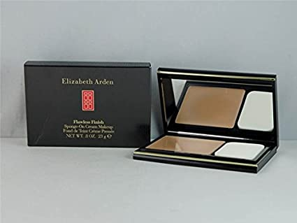 Elizabeth Arden Flawless Finish - maquillaje en crema con esponja, color beige (Honey Beige), 19 g: Amazon.es: Belleza
