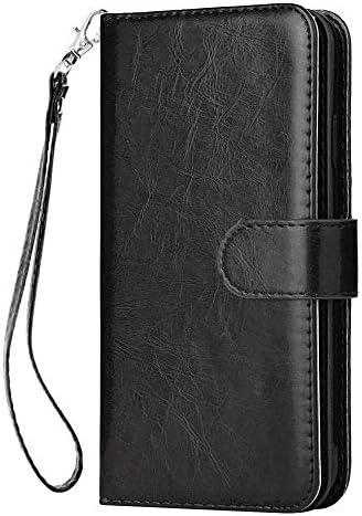 iPhone 8 Plus プラス PUレザー ケース, 手帳型 ケース 本革 スマートフォンカバー カバー収納 財布 耐摩擦 ビジネス 手帳型ケース iPhone アイフォン 8 Plus プラス レザーケース