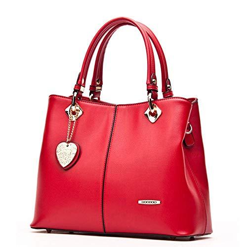 à Sacs Femmes Ladies Pendentif à Main Sacs bandoulière red PU Cuir WWAVE Sacs Designer à Les Main Sac 5dOwxqdSY