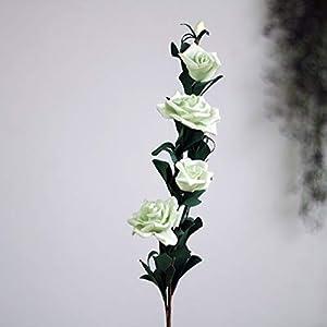 Retro Pe Foam Artificial Roses Bouquet Fake Flowers Festive & Party 25