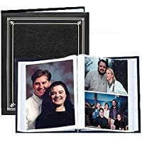 Post-Bound Black pocket album for 5x7 and 8x10 prints - 5x7