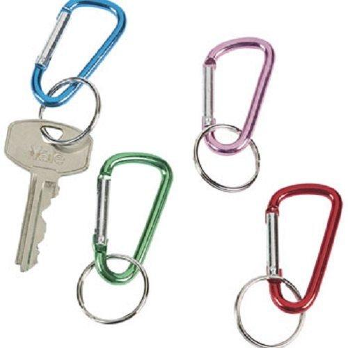 Metallic Aluminum Clip Chains dozen