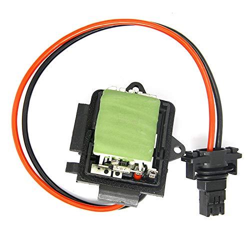 Hlyjoon Heater Regulator Resistor 7701050325 4409452 91158691 509900 Heater Fan Blower Motor Resistor Blower Control Module - Replaces for Trafic Vivaro 2001-2014: