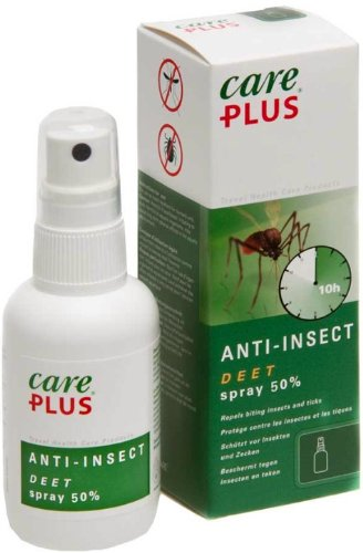 Care Plus Anti Insect Deet Spray 50% 60 ml