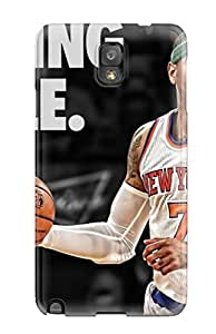 Protective Tpu Case With Fashion Design For Galaxy Note 3 (carmelo Anthony)