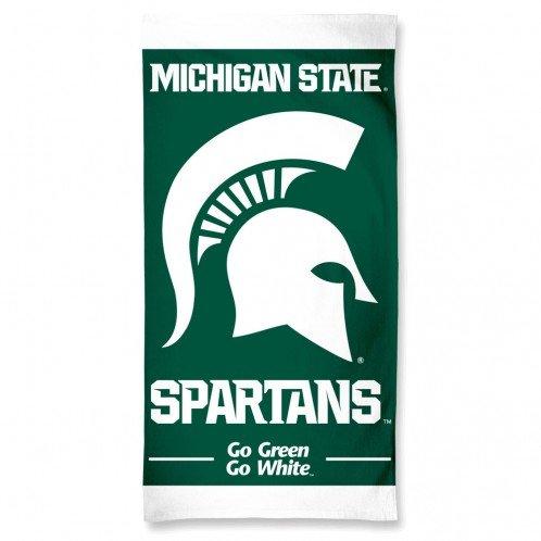 Michigan State Spartans 30'' x 60''Beach Towel