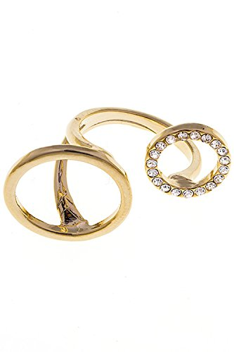 Karmas Canvas ROUND CUT TIP ACCENT RING (Gold) (Verragio Engagement Prices Ring)
