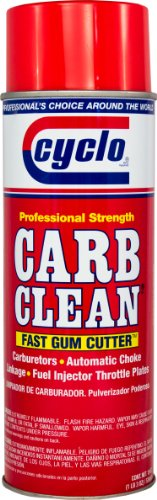Cyclo Break Thru Carb Clean Aerosol Spray: Carburetor, Choke and Throttle Cleaner, 19 fl - Aerosol Clean