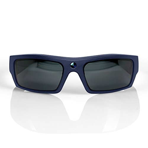 GoVision SOL 1080p HD Camera Glasses Video Recording Sport Sunglasses with Bluetooth Speakers and 15mp Camera - - Sunglasses Ok
