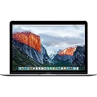 Apple Macbook 12 Early-2015 Laptop, INTEL:M-5Y51/ICM, 1.2 GHz, 512 GB, INTEL-HD5300/IGP, Mac OS, Space Gray, 12.5 (Refurbished)