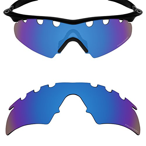 Mryok+ Polarized Replacement Lenses for Oakley M Frame Hybrid Vented - Pacific (Pacific Hybrid)