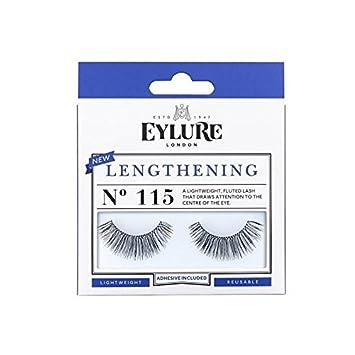 274ed6b7b04 Eylure Lengthening 115 Lashes (Pack of 4): Amazon.co.uk: Beauty