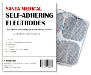 Santamedical Re Usable Electrode Premium White product image