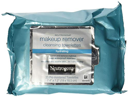 Neutrogena Cleansing Makeup Remover Towelettes Hydrating - 25 oz - 25 ct