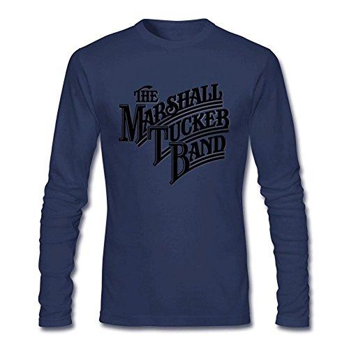 JXK Men's The Marshall Tucker Band Logo Long Sleeve T-shirt XXXL ColorName (Marshall Band Tucker Shirt)
