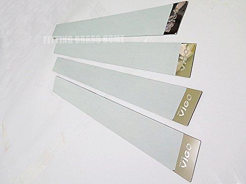 Pickup Stainless Pillar Posts - PILLAR POST PLATE STAINLESS SET FOR TOYOTA HILUX VIGO SR5 PICKUP FITS 4DOOR 2005-2012 06 08 10