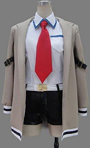 [Relaxcos Steins;gate Makise Kurisu Cosplay Costume] (Kurisu Makise Cosplay Costume)