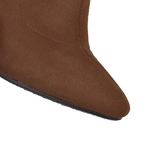 1to9 Donna Sandali Mns03210 Marrone Zeppa Con 35 brown f78rf