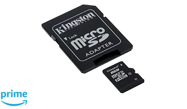 Tarjeta de Memoria Micro SD Kingston 8G Para Samsung Galaxy Mini ...