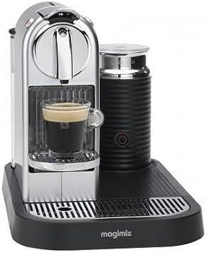 Magimix 11303 – Cafetera Nespresso Citiz milk. auto. aeroccino. plata: Amazon.es: Hogar