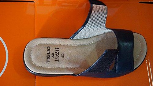 Chaussons-pantoufles Linden Homme 802 Bleu