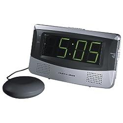 Sharper Image Sonic Boom! Loud + Vibrating Alarm Clock (SA650)