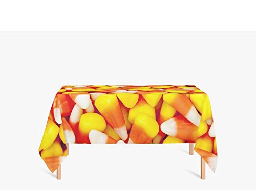 Movie And Tv Themed Costume Ideas - AmyOKeefe Halloween Candy Yellow red Polyester fiber Tablecloths, 55 X 87 Inch (140x220CM)
