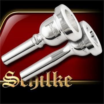 Schilke Standard Series Small Shank Trombone Mouthpiece in Silver 51D Silver