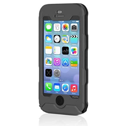 first rate 8c1a3 c9f45 Incipio IPH-926 Atlas Case for iPhone 5-1 Pack - Retail Packaging - Dark  Gray