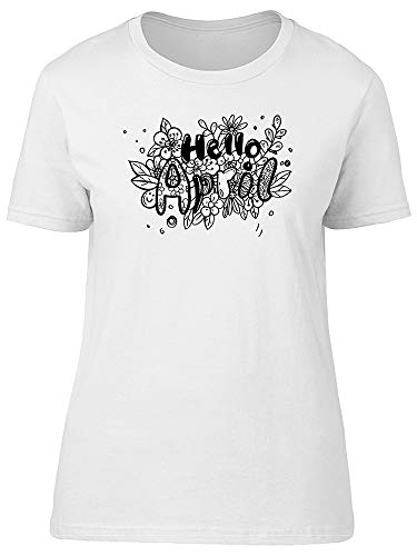 (Hello, April. Doodles Tee Women's -Image by)