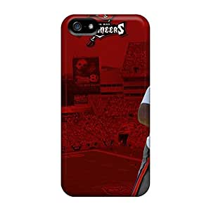 Drcases Fashion Protective Tampa Bay Buccaneers Case Cover For Iphone 5/5s