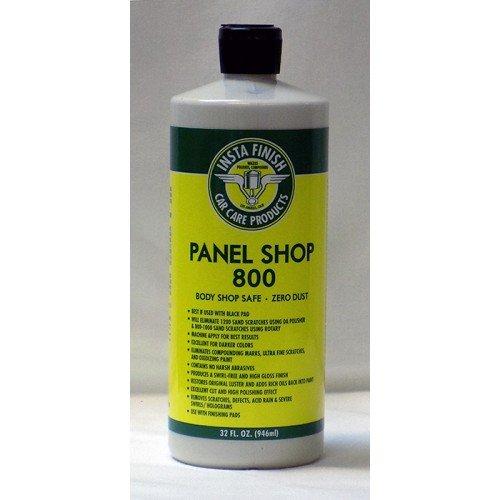 Insta Finish Panel Shop 800 Body Shop Safe Auto Polish Zero Dust 32oz
