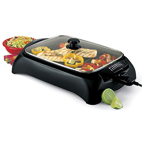 West Bend 6111 Heart Smart Indoor Grill, Black by West Bend (Image #4)