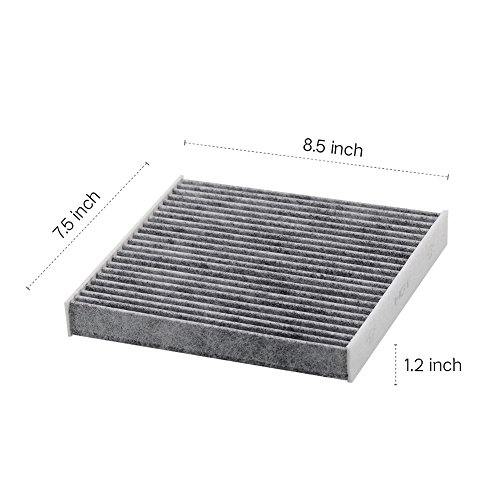 Kootek-Car-Cabin-Air-Filter-Replacement-for-CF10285-with-Active-Carbon-for-Toyota-Lexus-Scion-Subaru-against-Bacteria-Dust-Viruses-Pollen-Gases-Odors-2-Pack