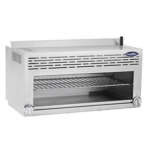 CookRite ATCM-36 Commercial Infrared Cheese Melter Natural Gas Countertop 36'' - 43,000 BTU by Cook Rite