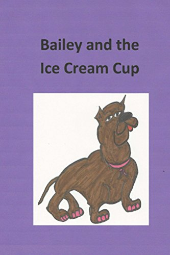 Bailey and the ice cream cup