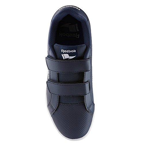 Reebok Bs7941, Zapatillas de Deporte Unisex Niños Azul (Collegiate Navy / White)