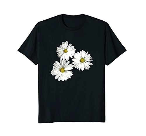 Mens Pretty Oversize Flower Daisies Graphic T-Shirt Medium - Daisy T-shirt Flower
