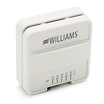 Williams P322016 Furnace Wall-Mounted Thermostat Genuine Original Equipment  Manufacturer (OEM) part: Room Air Conditioners: Amazon.com: Industrial &  Scientific | Williams Thermostat P322016 Wall Furnace Wiring Diagram |  | Amazon.com