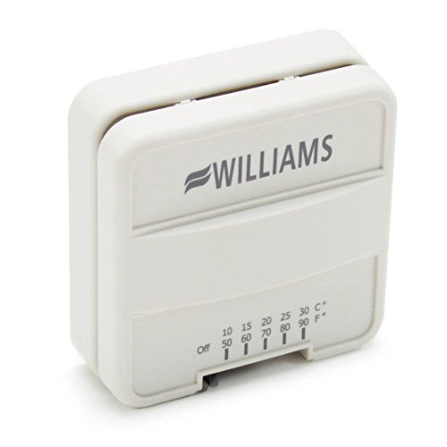 williams p322016 furnace wall mounted thermostat genuine williams wall furnace wiring diagram monterey plus top vent wall furnace 350982