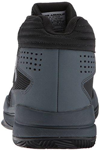 Under Armour Ua Bgs Jet 2017, Zapatos de Baloncesto para Niños, Negro (Black), 38.5 EU
