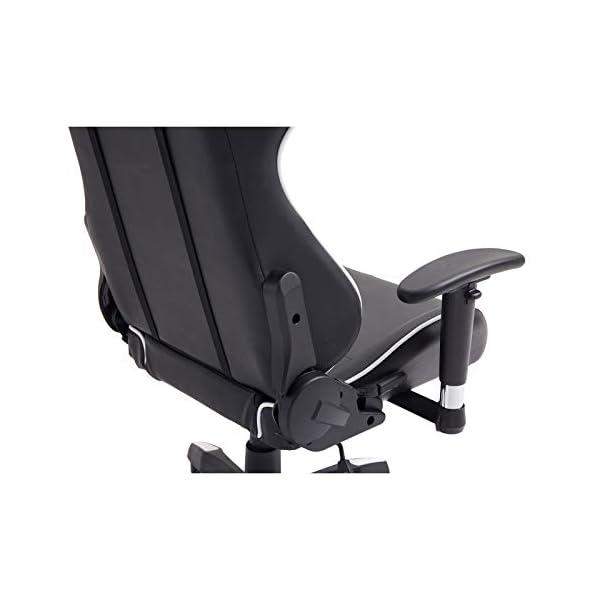IDIMEX Chaise de Bureau Gaming Racer Chair Style Racing Gamer, Fauteuil Ergonomique pivotant, siège à roulettes avec…