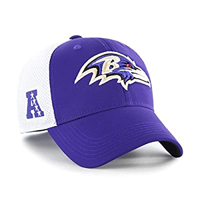 '47 Back Pedal Baltimore Ravens Brand Fitted Hat