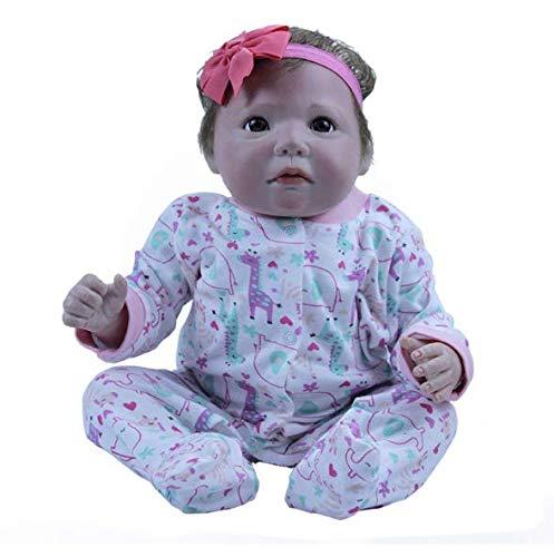 XiangLong Reborn Dolls Opened Eyes Real Looking Lifelike Reborn Girl Doll Soft Silicone Vinyl Baby Dolls Girl Toys Reborn Dolls