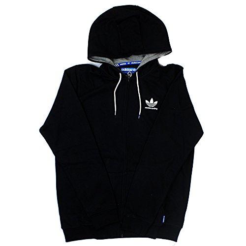 Adidas ADV Full-Zip (Dark Grey Heather/Core Heather) Hoodie