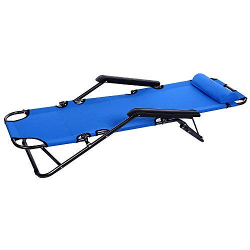 Lightweight Camping Cot, Portable Folding Bed with Adjust...