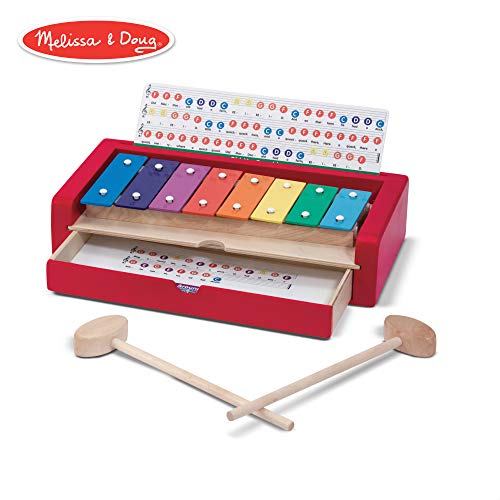 Melissa & Doug Learn-To-Play Xylophone (Best Instruments To Learn To Play)